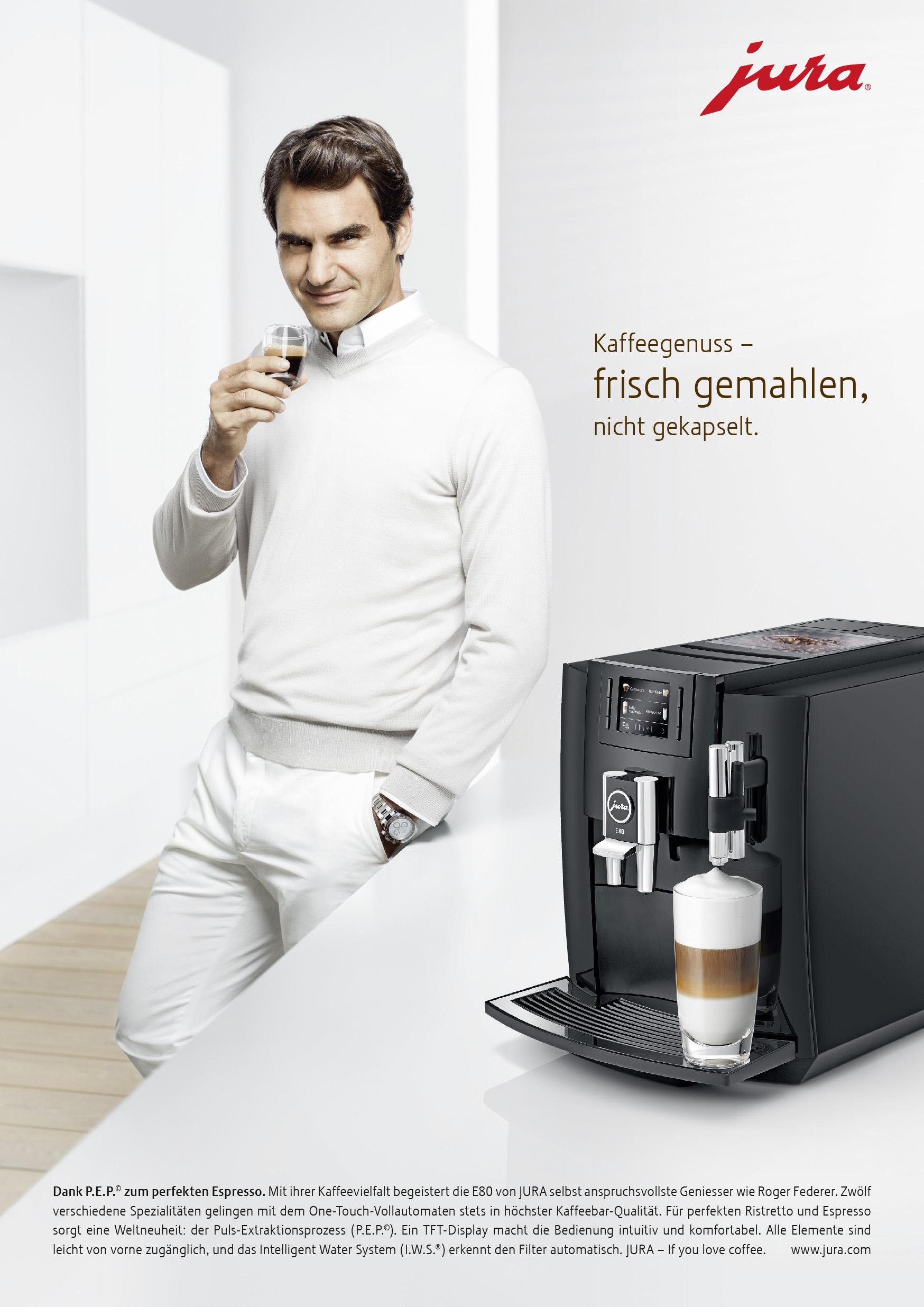 Publicis 171 Roger Federer F 252 R Jura Im Weltraum 187 Seilers Werbeblog