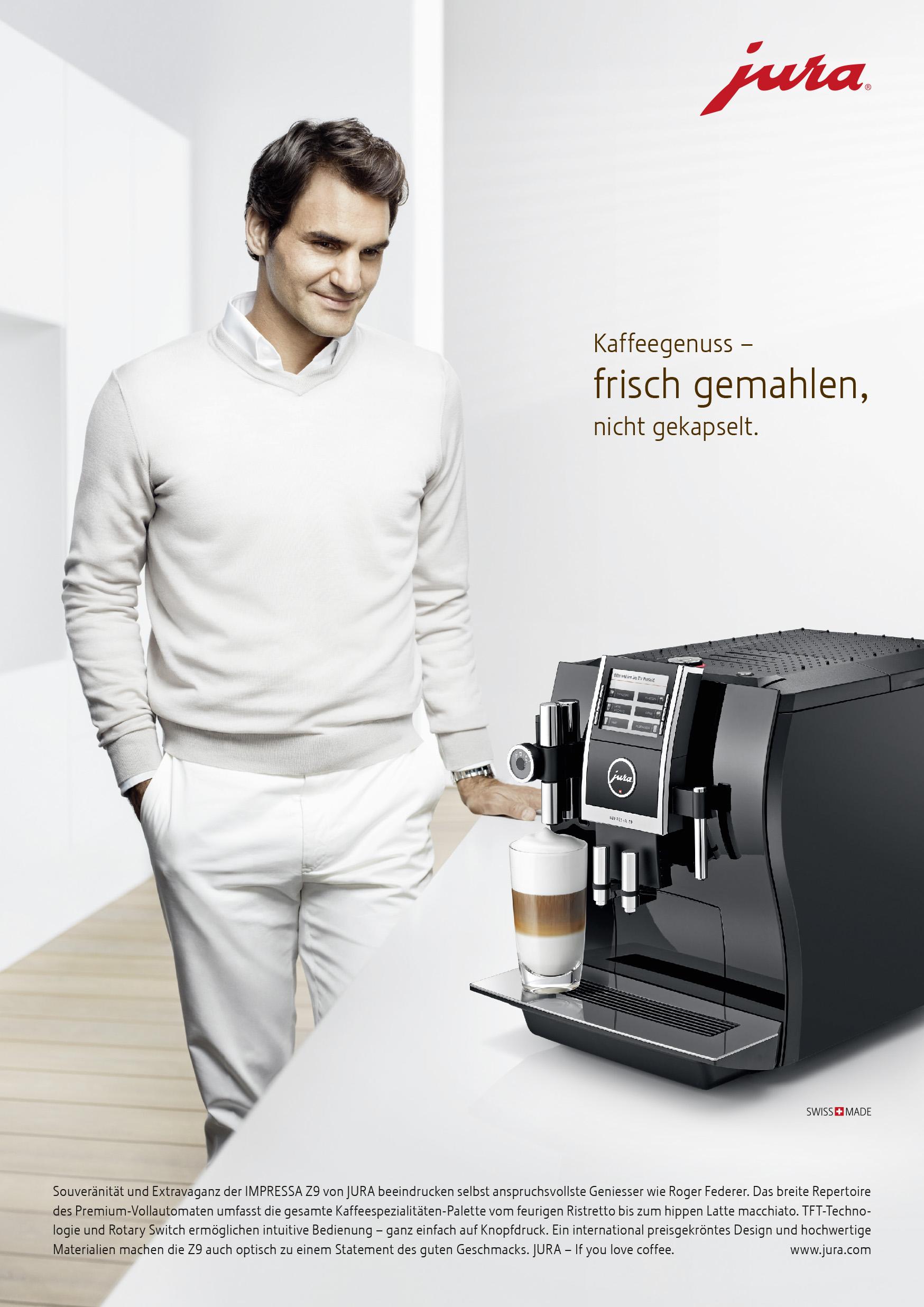 Publicis 171 Roger Federer F 252 R Jura Im Weltraum 187 Seilers